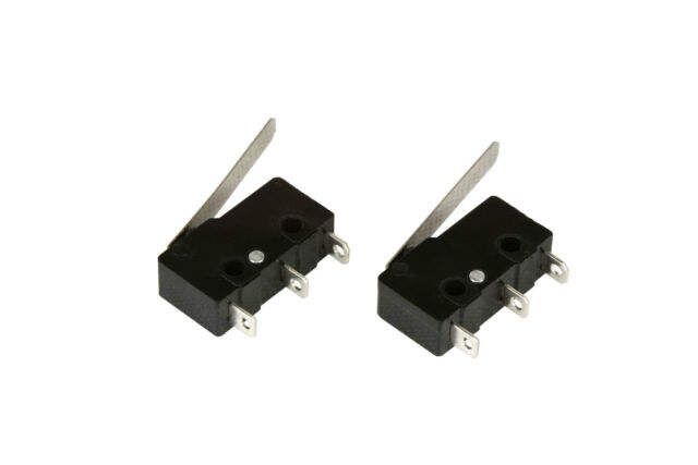 2 pc TEMCo Micro Limit Switch Lever Arm Subminiature SPDT Snap Action LOT