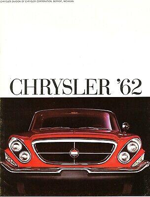 NOS 1963 Chrysler New Yorker Newport 300 Dealer Sales Brochure
