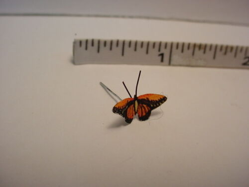 Dollhouse Miniature Croseus Butterfly Handcrafted Terry Harville