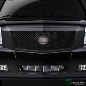 Topline For 2007 2014 Cadillac Escalade Ext Mesh Front Bumper