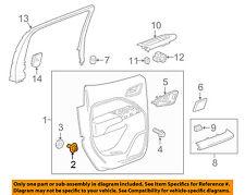 GM OEM Interior-Rear Door-Upper Trim Retainer 15326410