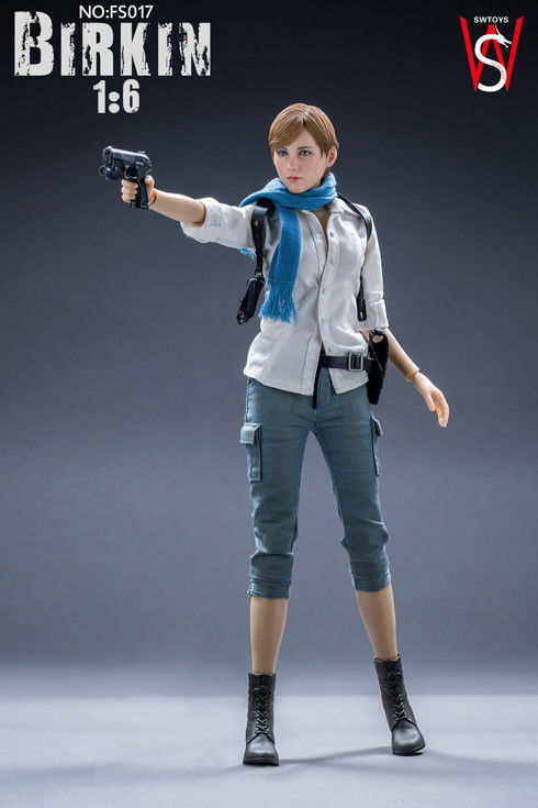 【USA PRIORITY SHIPPING】1 6 Sherry Birkin Resident Evil 6 FS017 Female Figure Set