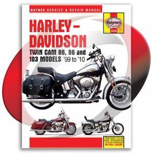 1999-2010-Harley-Davidson-Road-King-Haynes-Repair-Manual-2478-Shop-Service