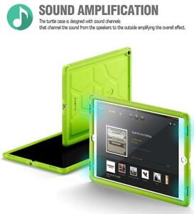For-iPad-Pro-12-9-2017-Shockproof-w-Drop-Protection-Silicone-Case-Cover-Green
