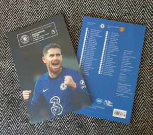 Chelsea v Manchester Man United PREMIER LEAGUE Programme 28/2/21 READY TO POST!!