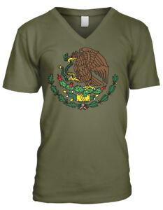 Mexico Golden Eagle Snake Coat Of Arms Flag Symbol Mexican Men S V