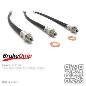 BRAKEQUIP-BRAKE-HOSE-KIT-1948-59-HOLDEN-FX-FJ-FE-FC-UTE-VAN-SEDAN-WAGON
