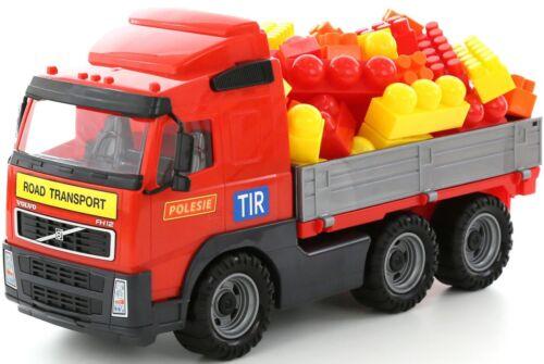 Toy Truck Tractor Lorry Loader Trailer Bike Volvo Kids Play Car Van Vehicle NEW