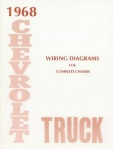 CHEVROLET 1968 Truck Wiring Diagram 68 Chevy Pick Up | eBay