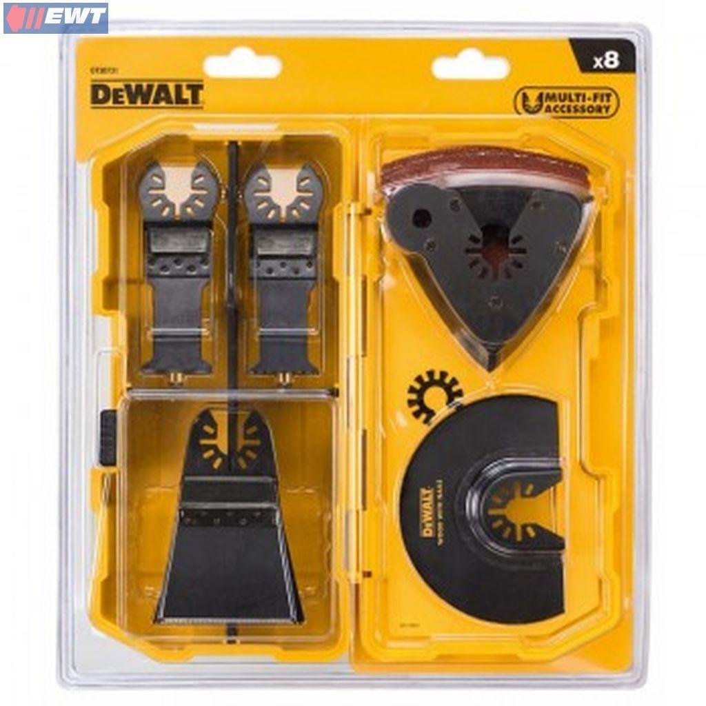 DeWALT DT20731 8-tlg. Multi-Tool Zubehör Set DT20731-QZ DT 20731