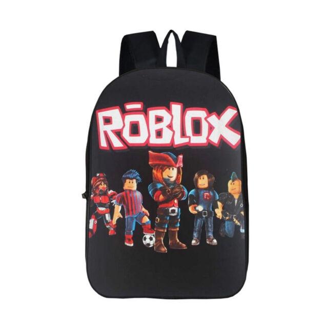 81db1697b3 ROBLOX Backpack Children Boys School Bag Student Laptop Kids ...