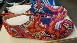 39b77c433563e Womens Sebago Persia Print Darien Liberty Art Fabrics Lace up Shoes ...