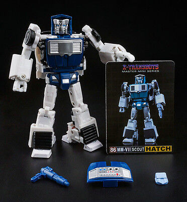 IN STOCK Transformers toy X-Transbots MM-VII Hatch G1 Tailgate Metal color