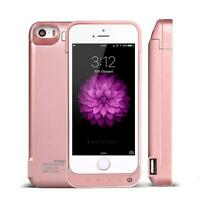External 4200mAh Battery Backup Charger Power Bank Case Cover For iPhone 5 5S SE