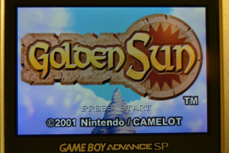 Golden Sun, Gameboy Advance