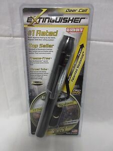 Illusion-Extinguisher-doe-fawn-buck-deer-game-call-Black-Authorized-Dealer