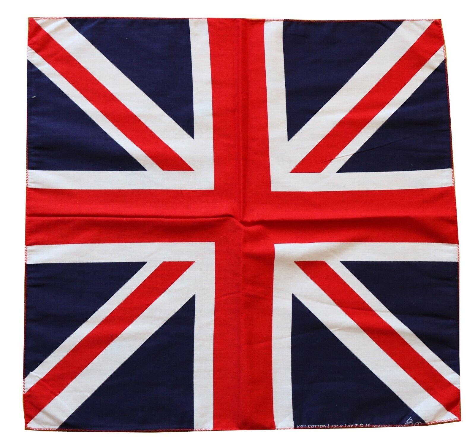 Kopftuch Bandana Großbritannien Tuch Nickituch London Schal England Halstuch