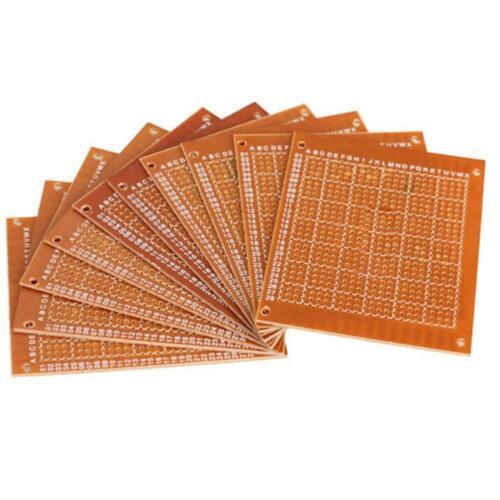 Matriz de papel prototipo universal Hazlo tú mismo PCB placa de circuito perforada 5x7cm ir