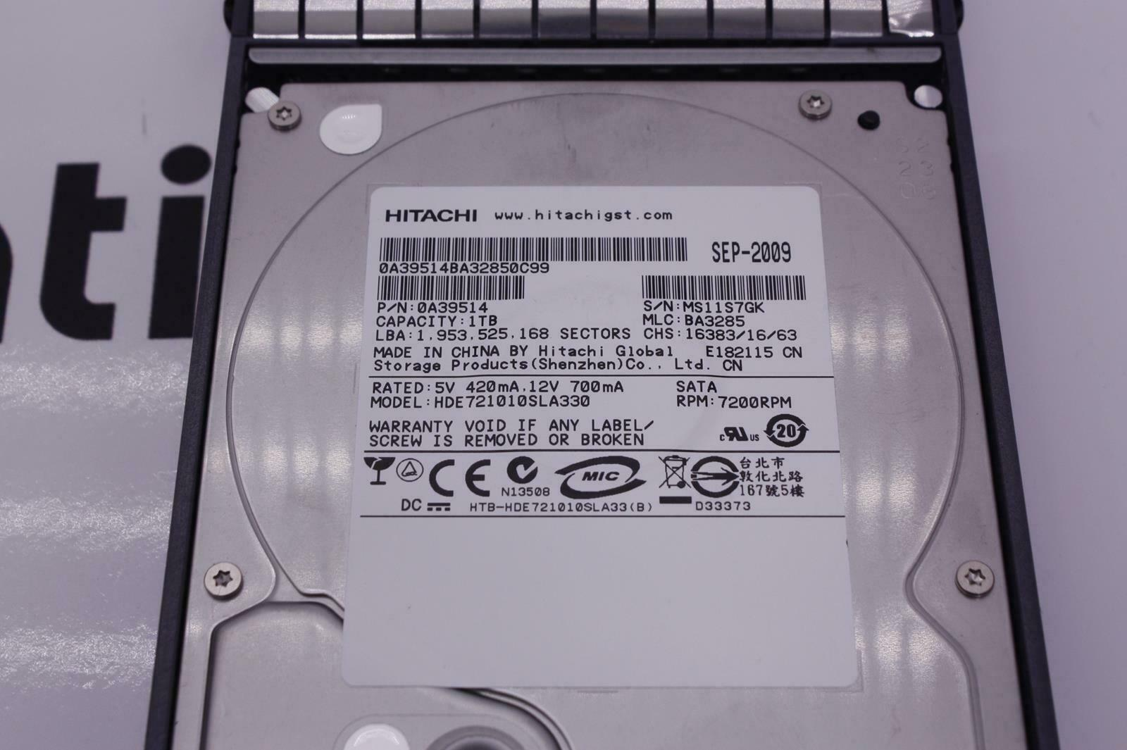 "Netapp HDD X269A-R5 108-00180+A5 1TB 3.5/"" SATA 3.0Gb//s 7200RPM 32MB Enterprise"