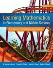 Learning Mathematics in Elementary and Middle School 9780133824698