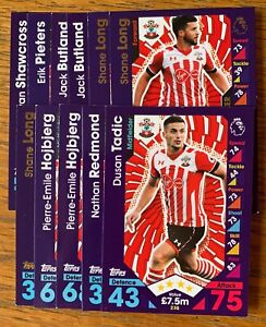 EPL Premier League **NEW** MATCH ATTAX 2016//17 TOPPS TRADING CARDS PACK x 20