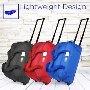 20-034-Rolling-Wheeled-Duffle-Bag-Tote-Carry-On-Travel-Suitcase-Luggage-Lighweight