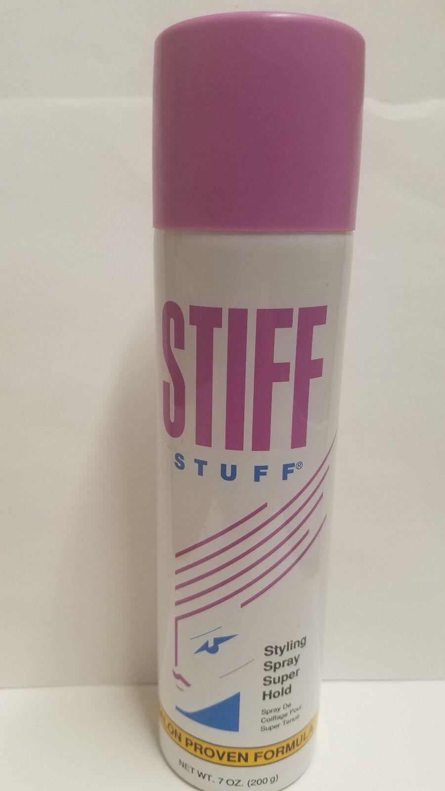 Stiff Stuff Vintage Styling Spray Super Hold Salon Proven Formula 7