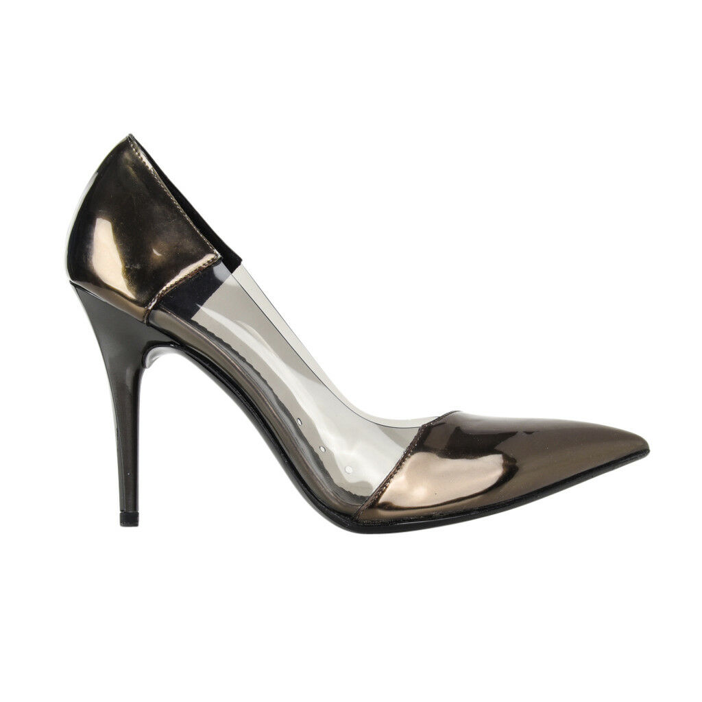 Stella McCartney shoes Iconic Vegan PVC   Patent Leather Pump 38   8