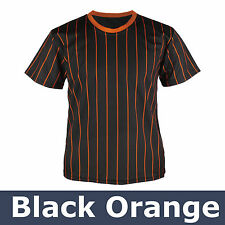 55a48110b item 5 New Mens Baseball Team T shirts Jersey Blank Striped Custom Tee  Pinstripe Tops -New Mens Baseball Team T shirts Jersey Blank Striped Custom  Tee ...