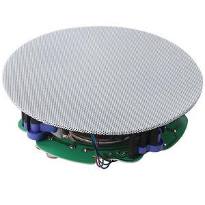 High Quality 8.0 inch Full Range Frameless Wall Ceiling Speaker 160W MAX