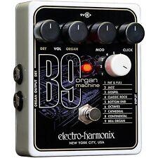 Electro Harmonix EHX B-9 B9 Electric Guitar Organ Machine Effect Pedal + Adapter