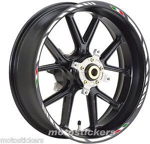 Aprilia-RS-125-Adesivi-Cerchi-Kit-ruote-modello-racing-tricolore