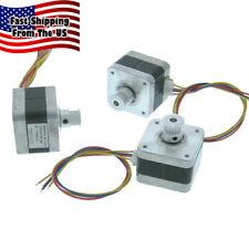 Nema 17 Stepper Motor 3 Piece Starter Set Cnc Mill 3d Printing Gt2 35352 Ms