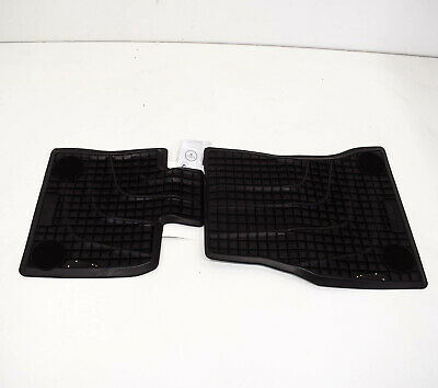 New Genuine BMW X5 E70 X6 E71 Front Floor Mats All Weather Rubber LHD 2239638