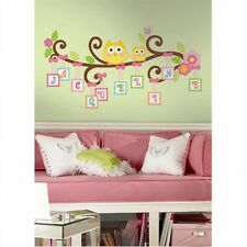 Scroll Tree Letter Branch Wall Decal Removable Vinyl Stickers Appliques Mural