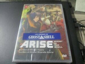 """DVD NEUF """"GHOST IN THE SHELL : ARISE , FILMS 3 & 4"""" manga"""