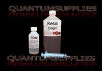 General Purpose Resin, Hardener & Syringe 250gm kit -FOR FIBREGLASS moulds / etc