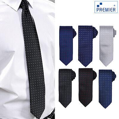 Radient Premier Micro Pois Modello Alla Moda Cravatta Poliestere (pr781) - Lavoro Formale Legami-mostra Il Titolo Originale