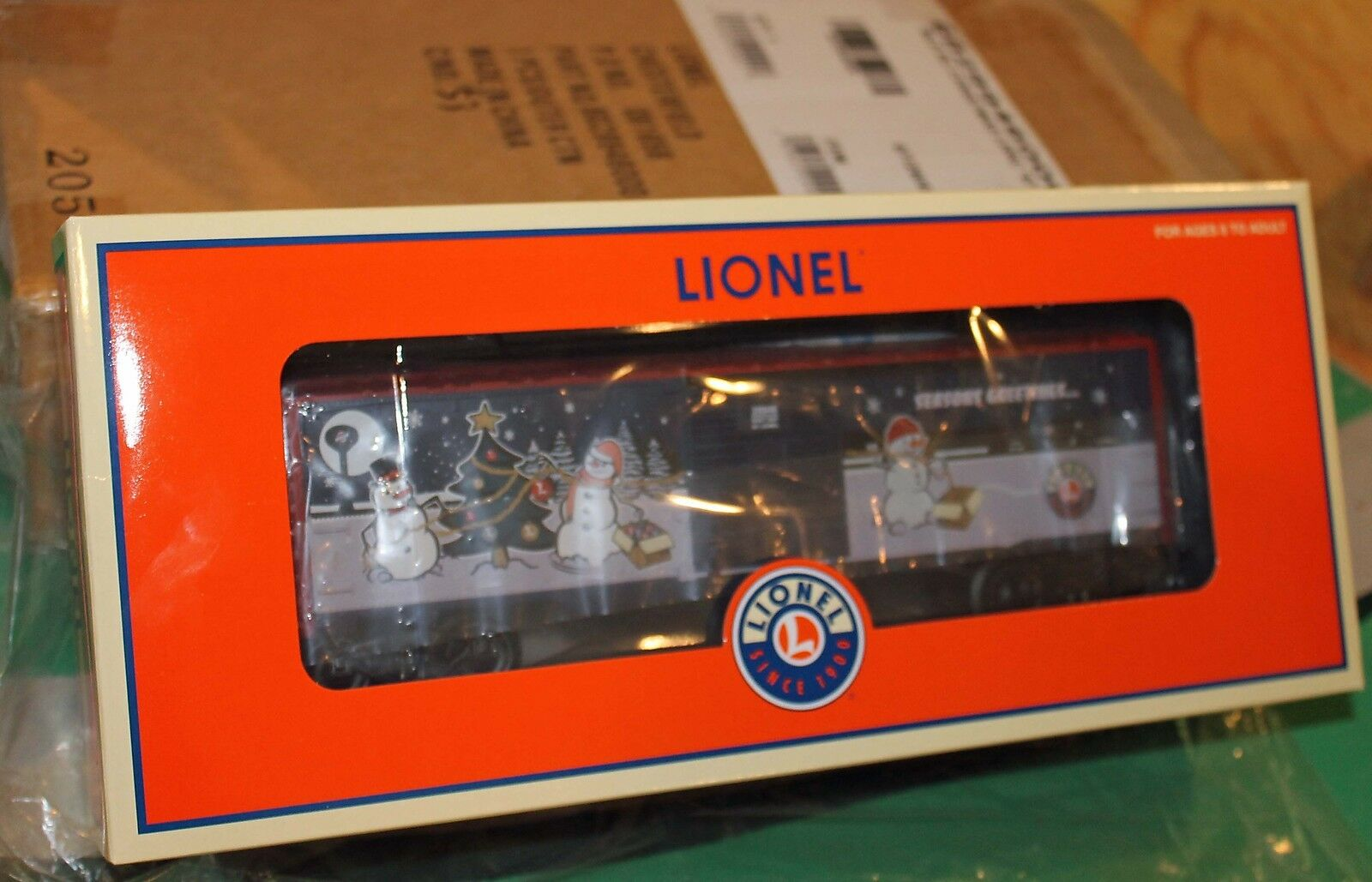 Lionel 2007 LRRC Christmas Holiday Boxcar 6-29946