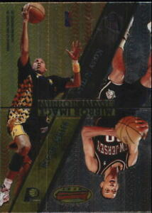 1997-98 Bowman's Best Mirror Image #MI9 Kittles Reggie Miller Battie H Olajuwon