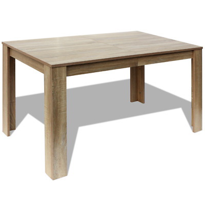Oak Dining Table Rectangle Kitchen