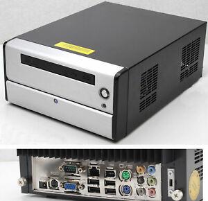 Compact Minicube-computer Cpu 1,6 Ghz Rs-232 Tv Sortie Dvi Son 160gb 1gb Ram Lissage De La Circulation Et Des Douleurs D'ArrêT