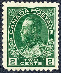 "King George V ""Admirals"" Issue - 1923 - Scott #107 - F MH"