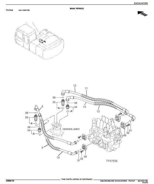 Bobcat 863 Hydraulic Diagram