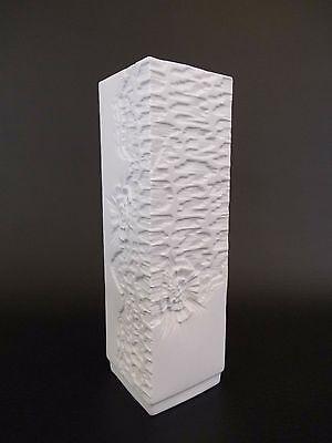 Ak Kaiser Vase 357/28 Op Art Biscuit 60s 60er 70s 70er Design Entwurf Space Age