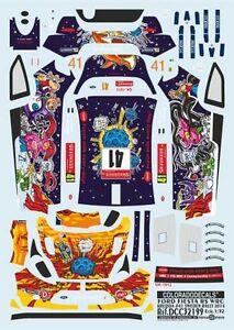 DECALS 1//43 FORD FIESTA RS WRC SUEDE 2014 #41 COLORADO 43241 KRUUDA