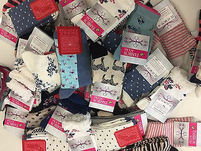 20 pairs luxury ladies women/'s coloured design socks cotton blend size 4-7  FGRD