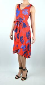 Phase-Eight-Gorgeous-Sacha-Red-Floral-Party-Wedding-Occasion-Dress-RRP-120
