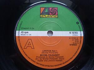 Michel-Polnareff-Lipstick-7-034-Vinyl-Single-NM-Funk-Soul