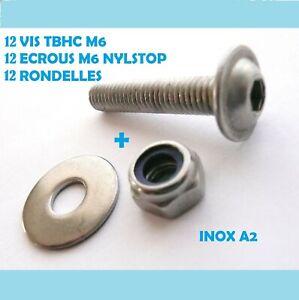 M3/M4/M5/M6/A2 Acier inoxydable M5 x 8mm Set de 10/vis Allen avec t/ête Ronde hexagonale